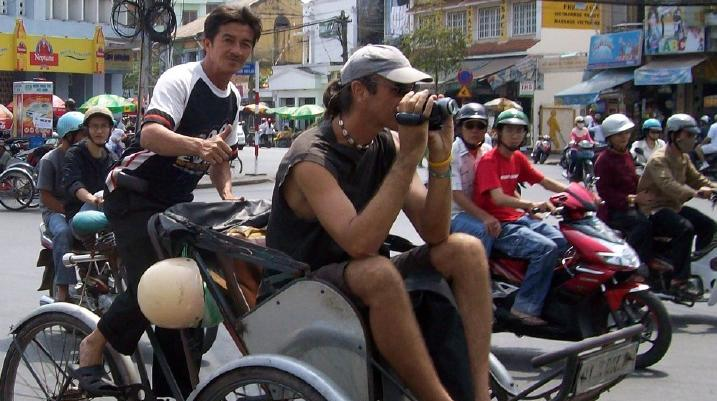 How to see Saigon by Rickshaw, Vietnam - Realworld Adventures